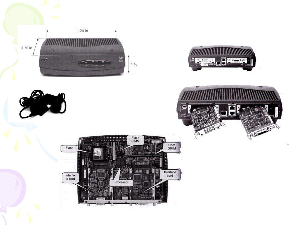 Interface yang disediakan oleh cisco router seri 1700 adalah : -4 Buah LAN port (10/100 Ethernet) -1 (WAN Port) serial Port -1 console port