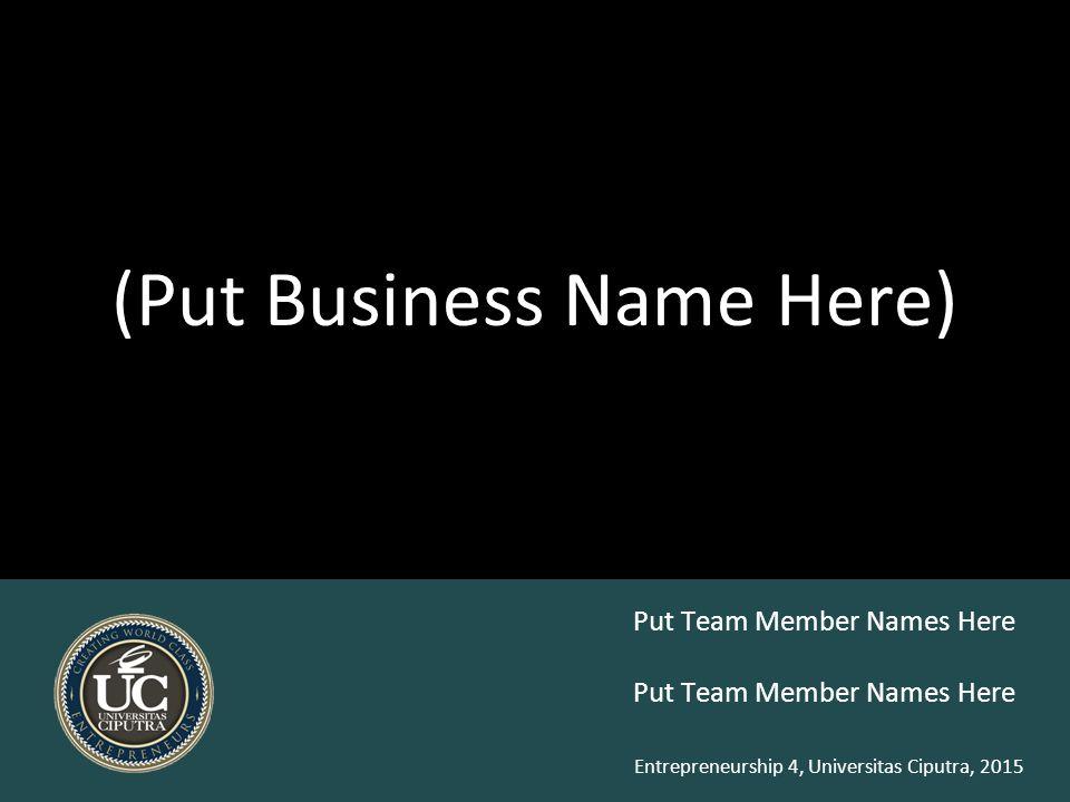 Business Reports (latest BMC)