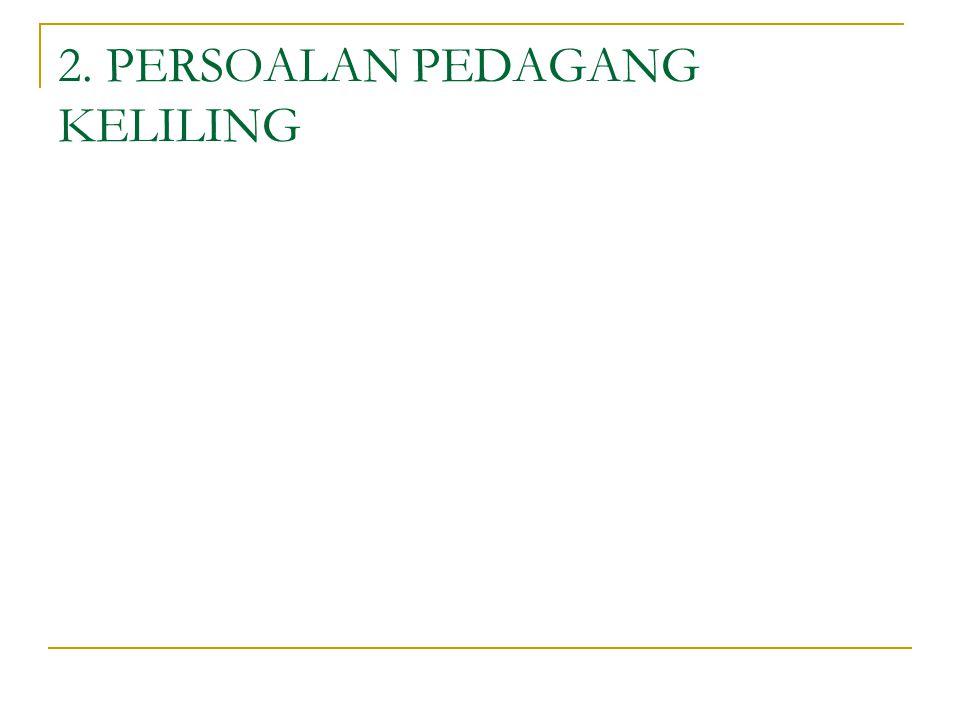 2. PERSOALAN PEDAGANG KELILING