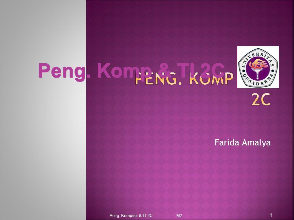 Farida Amalya Peng. Kompuer & TI 2C M2 1 Peng. Komp & TI 2C