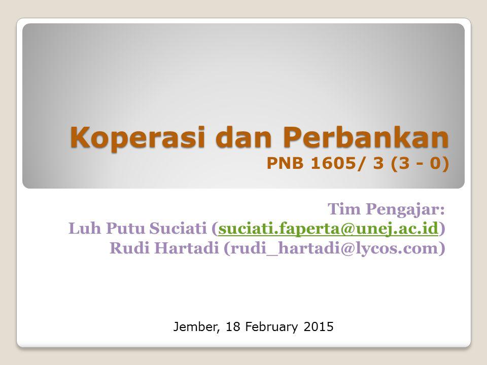 Minggu Kemampuan akhir yang diharapkan Materi/Pokok Bahasan Strategi Pembelajaran Latihan yang dilakukan Kriteria Penilaian (Indikator) 13  Menjelaskan institusi keuangan, API, dan bank sentral di Indonesia.