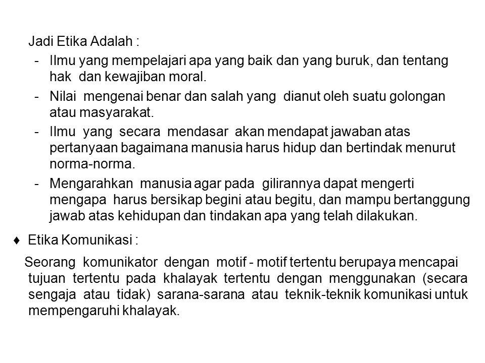 ETIKA PARIWARA INDONESIA TATA KRAMA 1.ISI IKLAN 2.