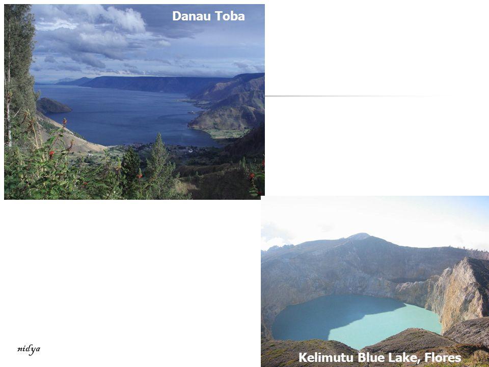 Danau Toba Kelimutu Blue Lake, Flores nidya