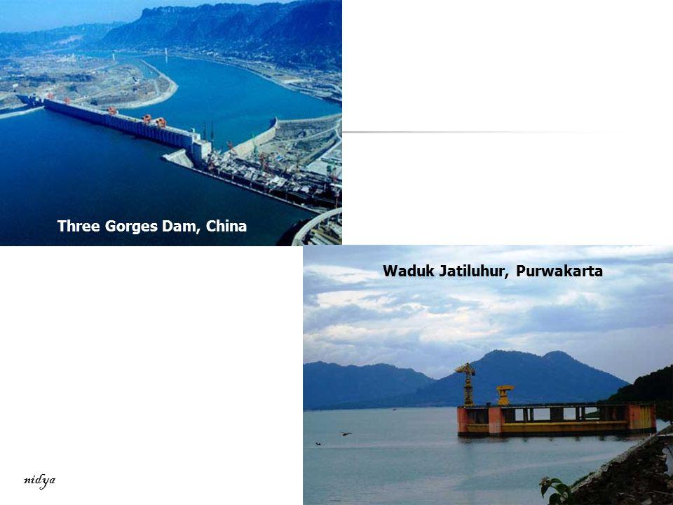Three Gorges Dam, China Waduk Jatiluhur, Purwakarta nidya