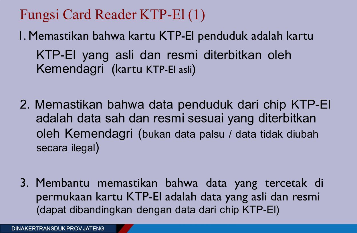 Fungsi Card Reader KTP-El (1) 1.