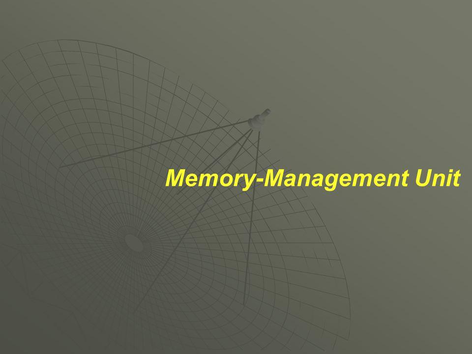 Memory-Management Unit