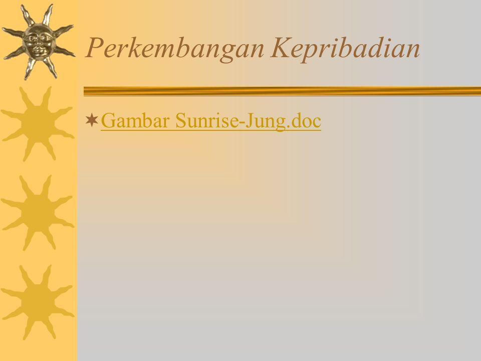Perkembangan Kepribadian  Gambar Sunrise-Jung.doc Gambar Sunrise-Jung.doc