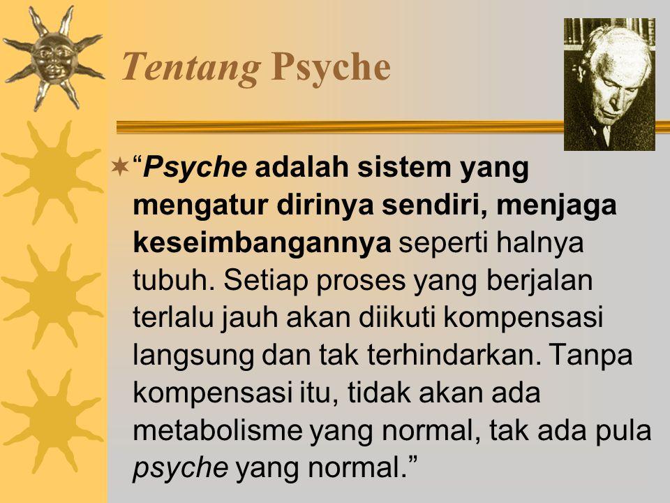 Self  Secara psikologis self didefinisikan totalitas psikis individual (Jung, 1948: 232).