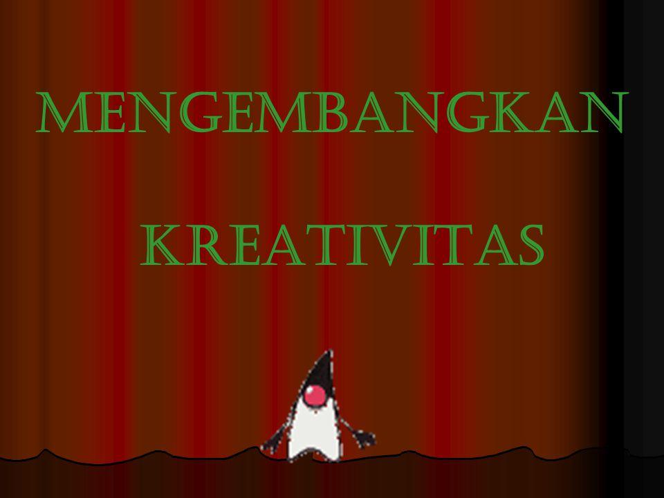 Apa itu kreativitas ?????