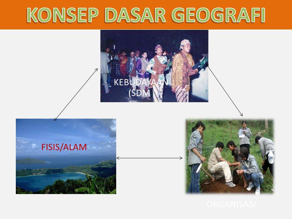 FISIS/ALAM ORGANISASI KEBUDAYAAN (SDM)
