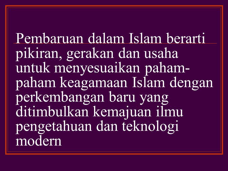 Penelitian dan pembahasan metode istinba¯ hukum yang relevan dengan pembaruan hukum Islam dewasa ini dirasakan sangat perlu dalam rangka menghasilkan produk- produk hukum yang sesuai dengan perkembangan masyarakat.