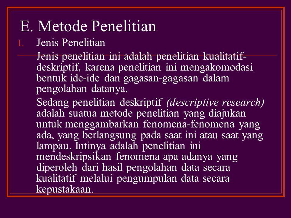 Dari tulisan-tulisan yang telah disebutkan, belum ada yang secara spesifik membahas tentang Metode Istih}sa>n dan Pembaruan Hukum Islam dalam Kompilasi Hukum .