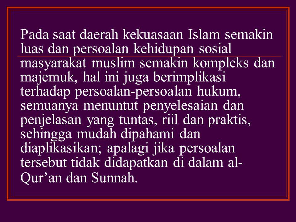 Menurut hemat penulis bahwa isti¥san merupakan salah suatu metode istinba¯ atau ijtihad yang relevan dengan pembaruan hukum Islam.