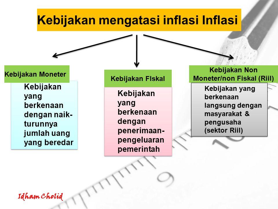 Idham Cholid Kebijakan Moneter 1.