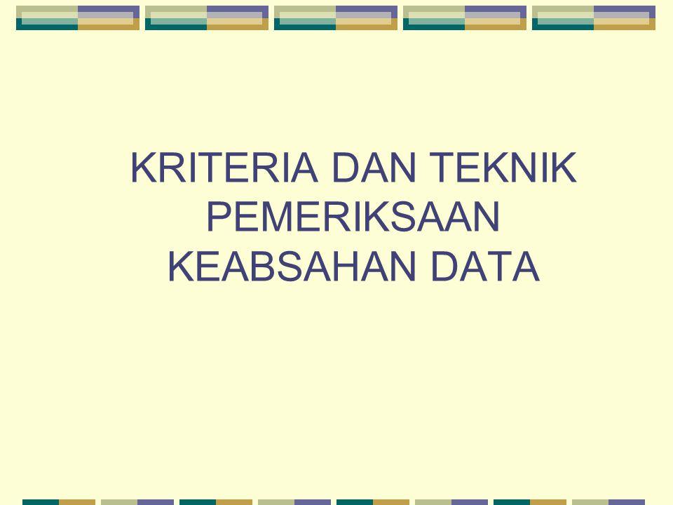 KETERALIHAN (Validitas Eksternal) Adalah mencari dan mengumpulkan kejadian empiris ttg kesamaan konteks  menyediakan data deskriptif (Hub sebab akibat yg terjadi bs digeneralisasikan).