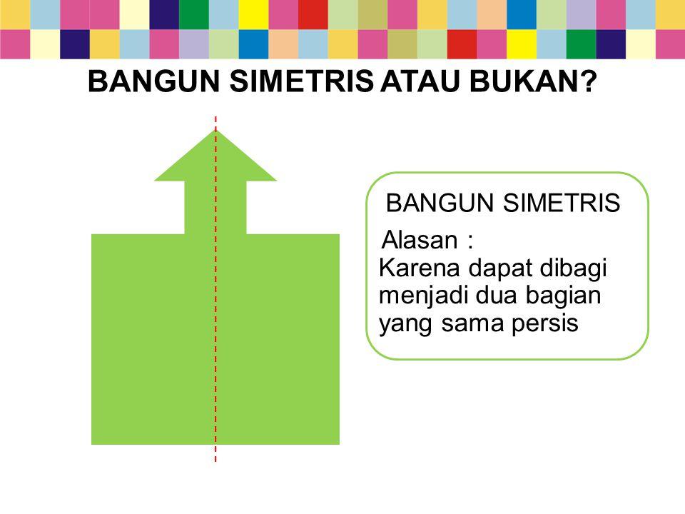 2.Perceminan bangun datar Sebelumnya kamu telah mempelajari tentang sumbu simetri.