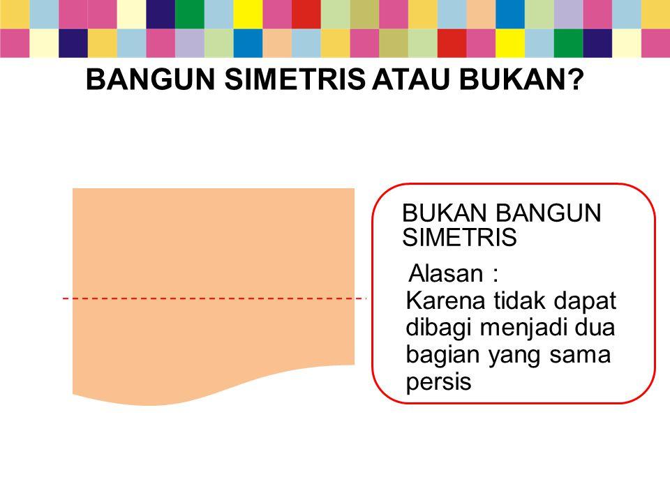 DIGAMBAR B.MEMBUAT BANGUN DATAR SIMETRIS Langkah