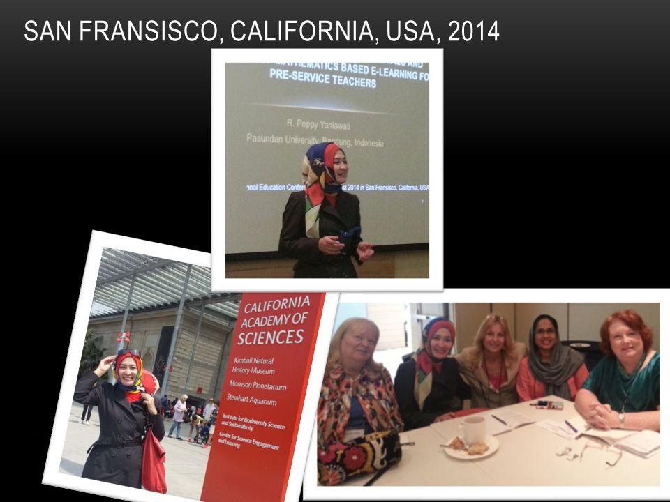 SAN FRANSISCO, CALIFORNIA, USA, 2014