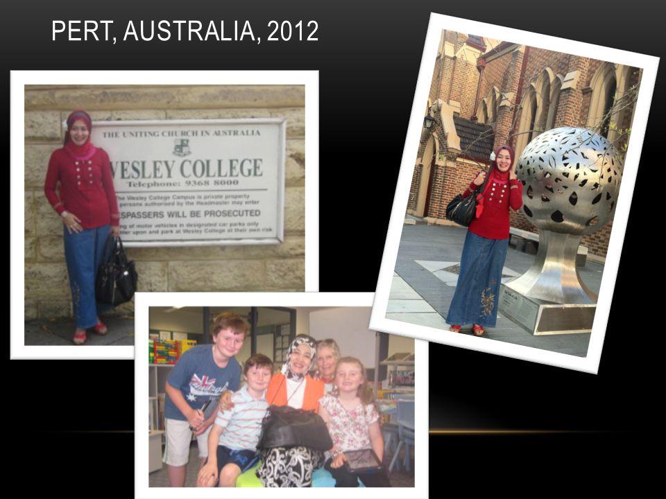 PERT, AUSTRALIA, 2012