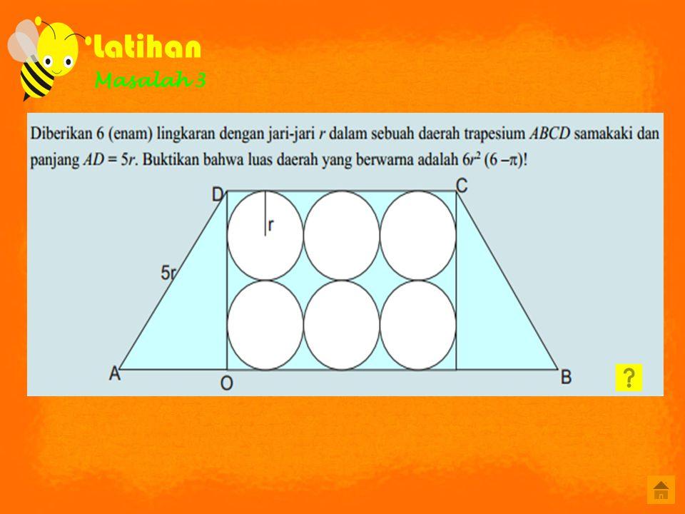 A B C D Petunjuk Pilihlah salah satu jawaban yang anda anggap benar dengan meng-klik pada option yang tersedia simulasi Luas taman yang berbentuk belah ketupat adalah 384 m 2, jika panjang salah satu diagonalnya adalah 24 m maka panjang diagonal yang lainnya adalah....