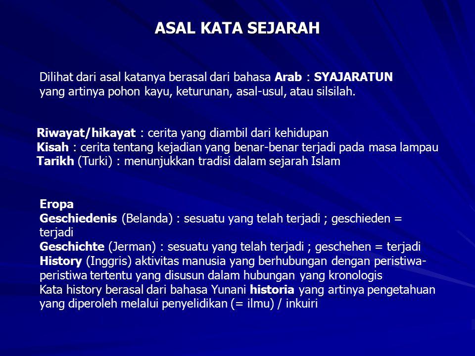 SEJARAH LISAN DAN TRADISI LISAN SEJARAH LISAN (ORAL HISTORY) TRADISI LISAN (ORAL TRADITION) 1.
