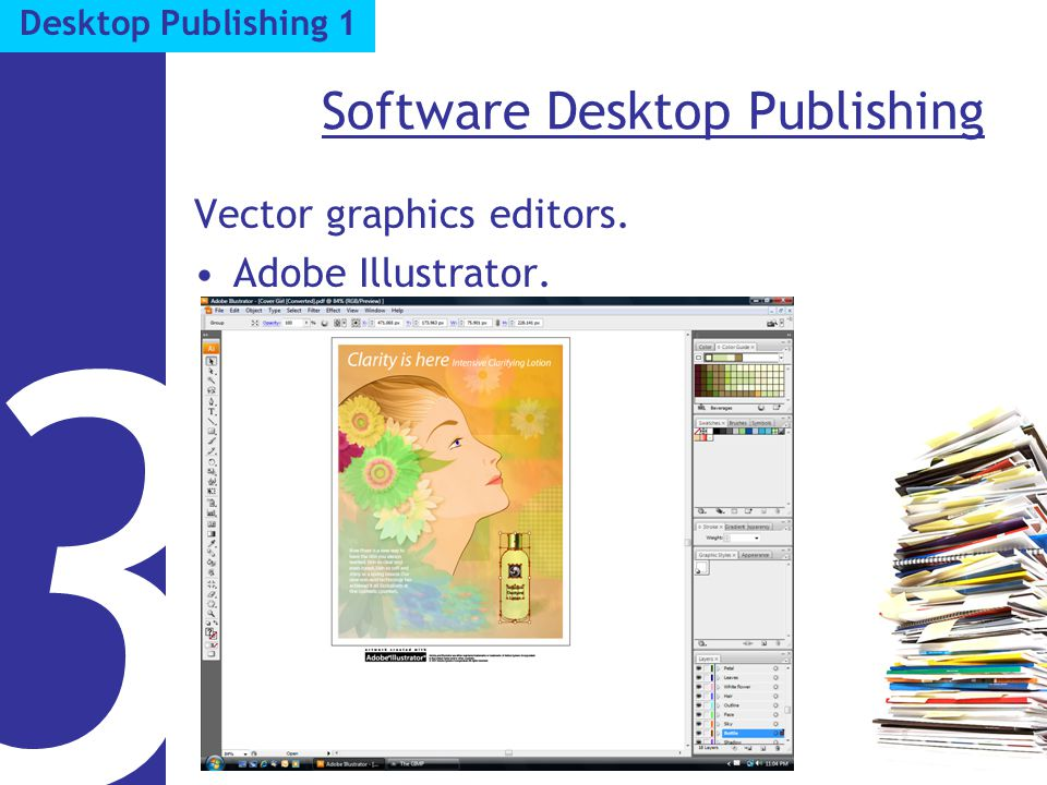 Software Desktop Publishing Vector graphics editors. Adobe Illustrator. 3 Desktop Publishing 1