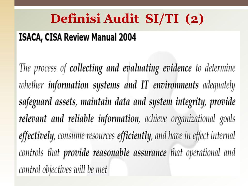 Proses sistematis yang dilakukan dengan memperhatikan keobjektifan dari pihak yang kompeten dan independen dalam perolehan dan penilaian bukti-bukti terhadap tuntutan- tuntutan yang terkait dengan hal-hal atau kejadian yang bersifat ekonomis.
