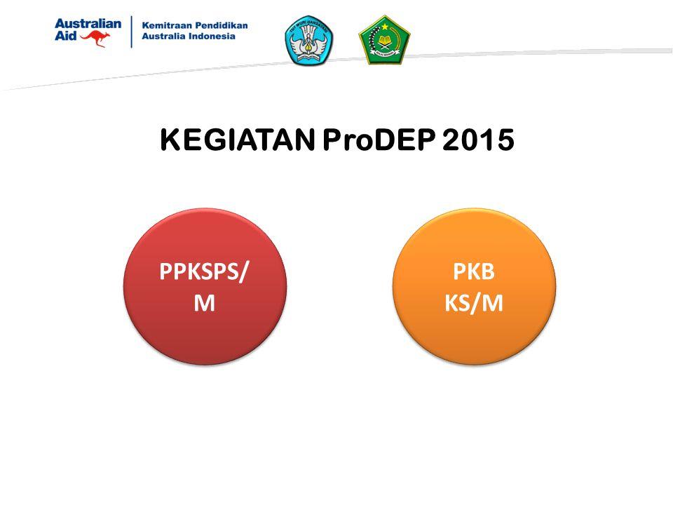 KEGIATAN ProDEP 2015 PPKSPS/ M PKB KS/M