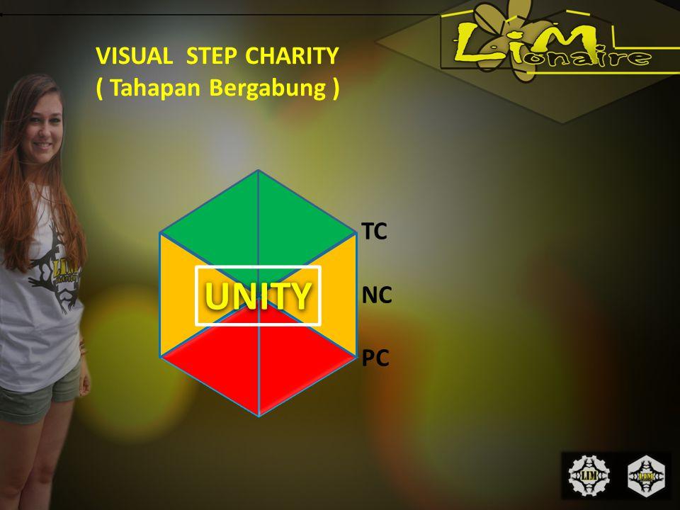 VISUAL STEP CHARITY ( Tahapan Bergabung ) UNITY TC NC PC