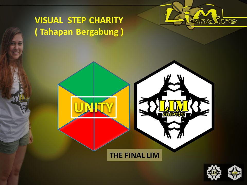 VISUAL STEP CHARITY ( Tahapan Bergabung ) UNITY THE FINAL LIM