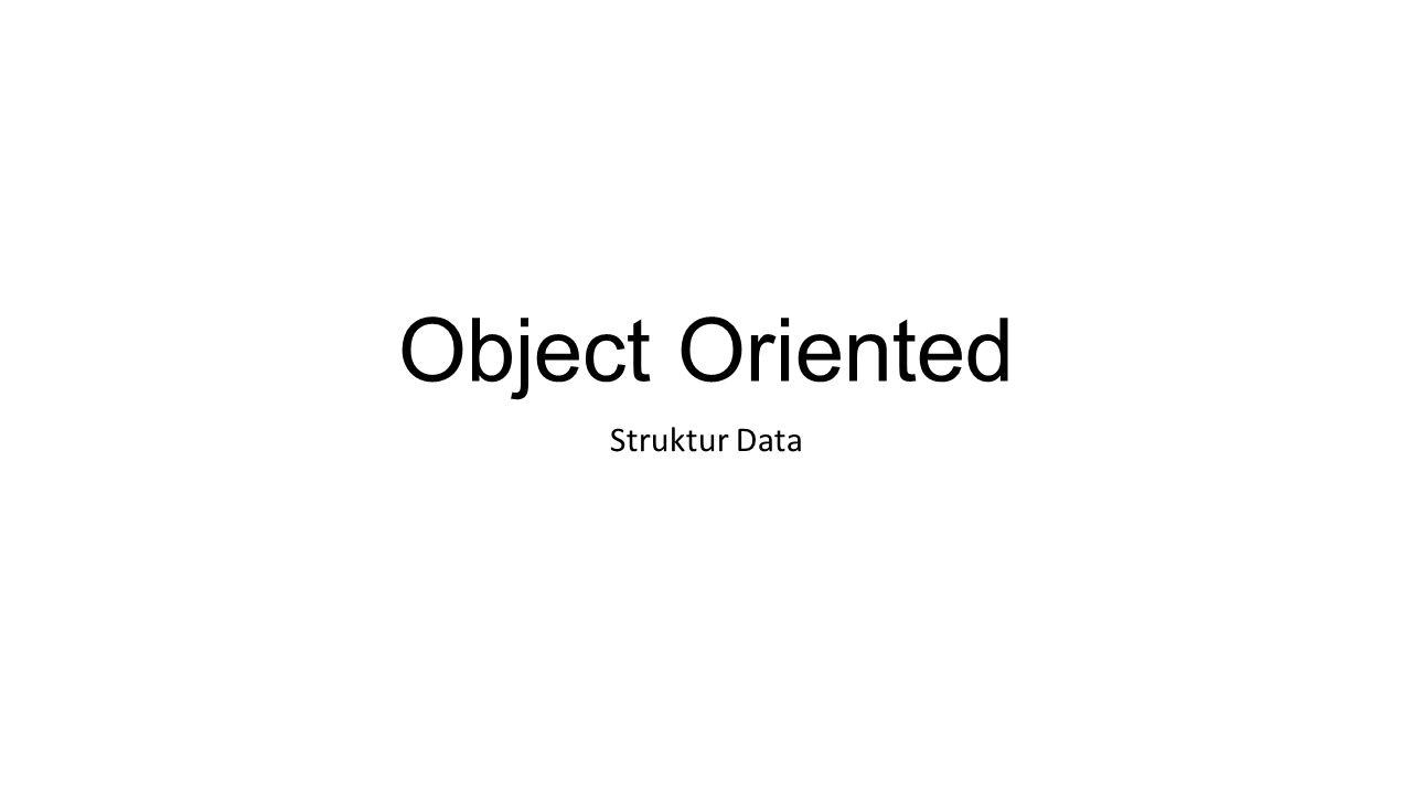 Apa itu Object .
