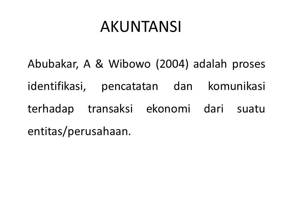 AKTIFITAS AKUNTANSI Aktivitas identifikasi yaitu mengidentifikasikan transaksi-transaksi yang terjadi dalam perusahaan.