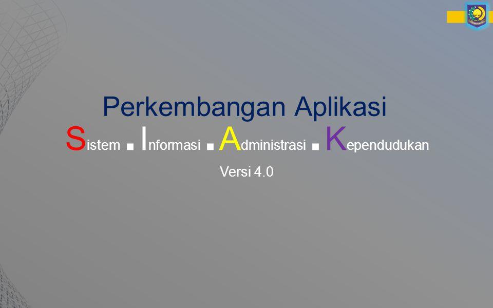 Contoh tampilan menu Input Biodata