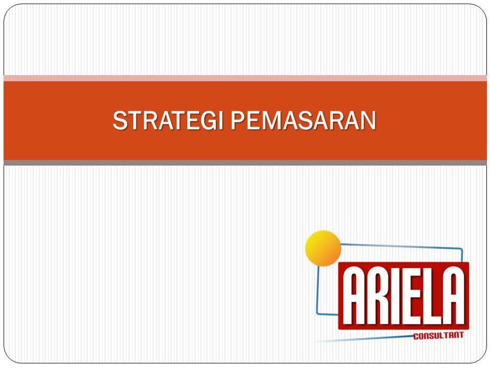 Tujuan dan Sasaran Sasaran: Mendapatkan klien dengan rincian sebagai berikut: TahunJumlah KlienTotal Nilai Layanan (Rp) Jul-Des 20105 1.631.000.000 20118 3.391.000.000 201215 6.473.500.000 201319 9.113.720.000 201423 11.908.457.000 201527 16.190.017.800 Tujuan:  Mendapatkan klien sesuai penetapan sasaran pemasaran  Membangun nama baik ARIELA Consultant sehingga menjadi konsultan yang terpercaya dan menjadi pilihan klien