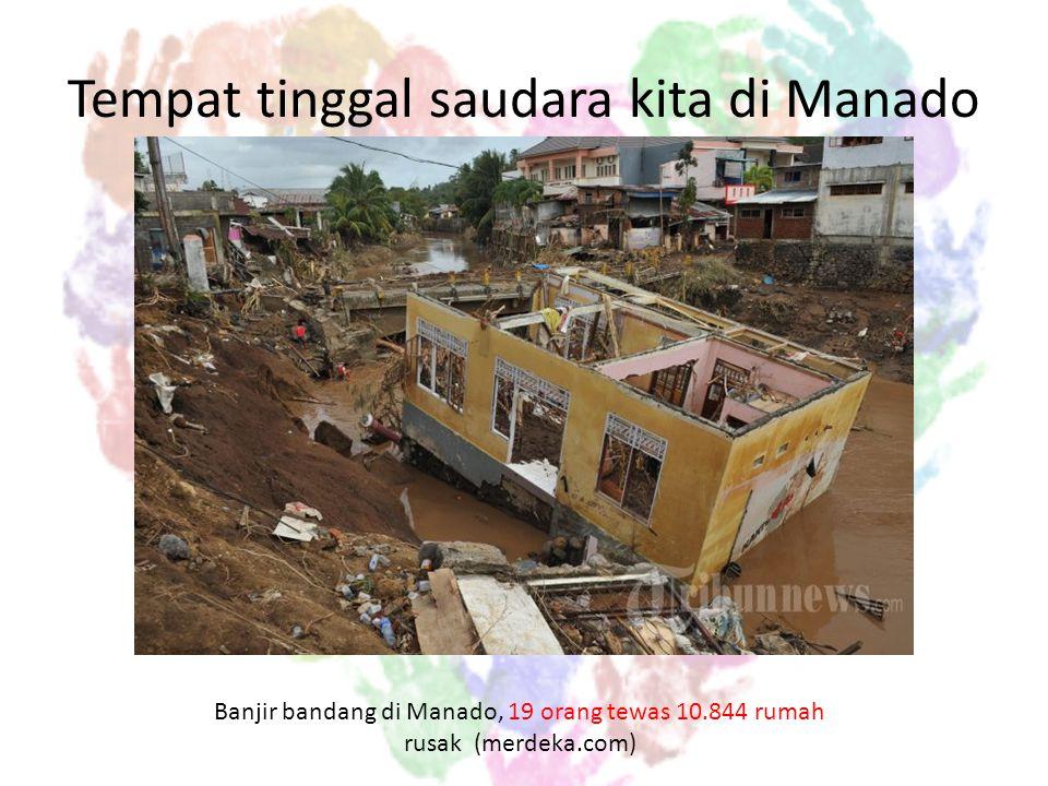 Rumah saudara kita.. Setanah air. Ribuan rumah di Jakarta terendam banjir.