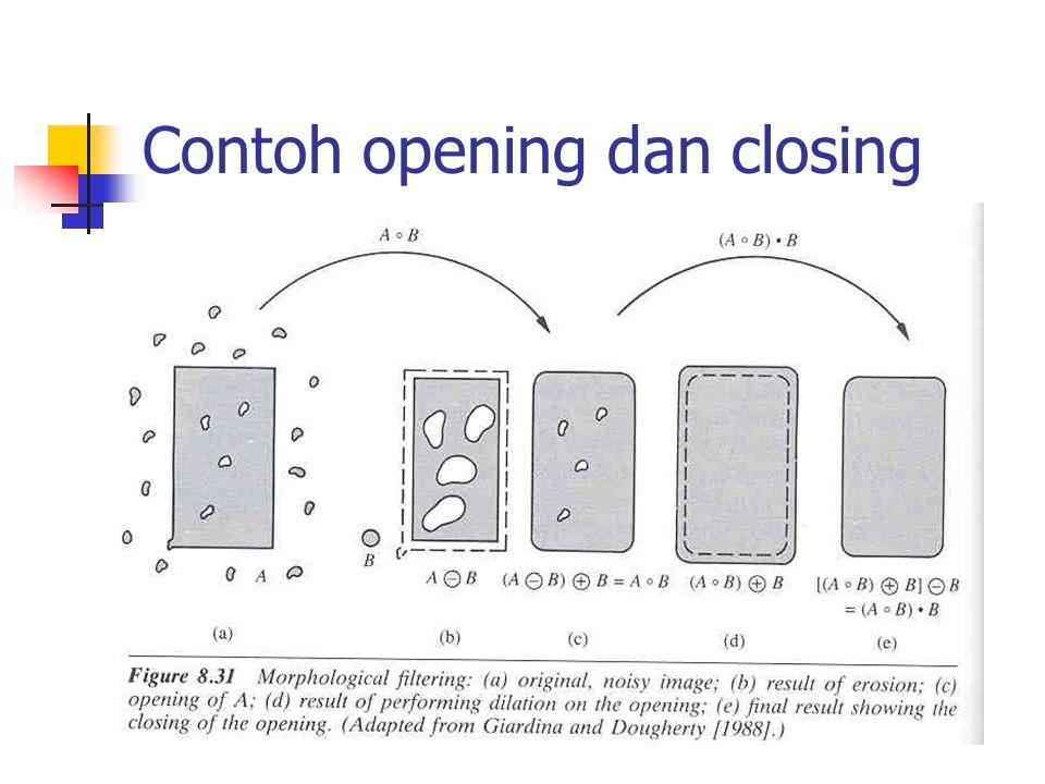 Contoh opening dan closing