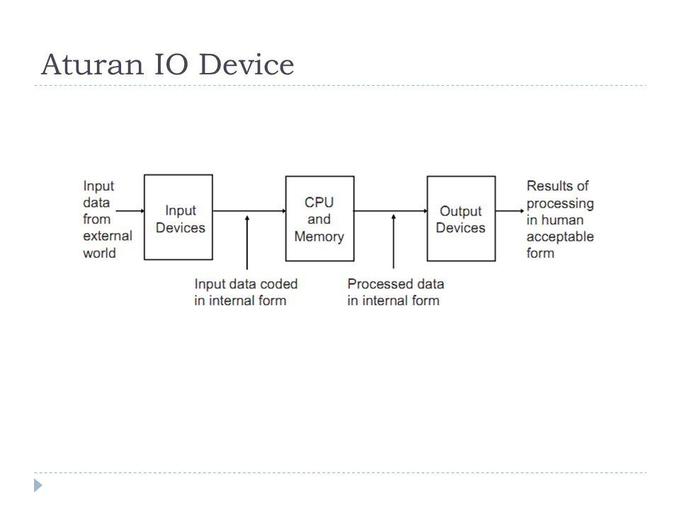 Aturan IO Device