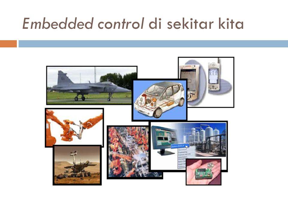 Embedded control di sekitar kita