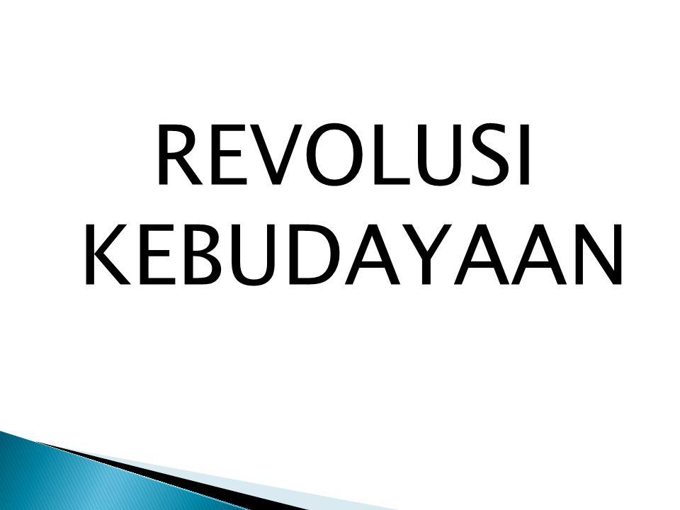 REVOLUSI KEBUDAYAAN