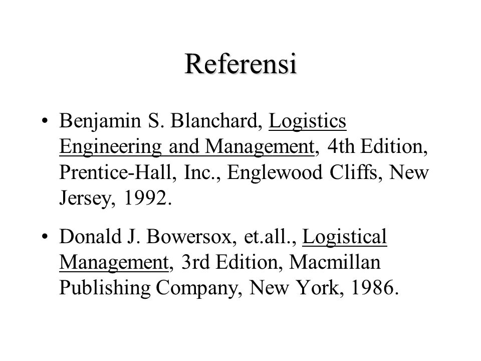 POKOK BAHASAN 5. Manajemen Logistik a. Logistik dalam System Life Cycle b. Organisasi dalam Logistik c. Perencanaan Logistik d. Penjadualan Tugas Logi