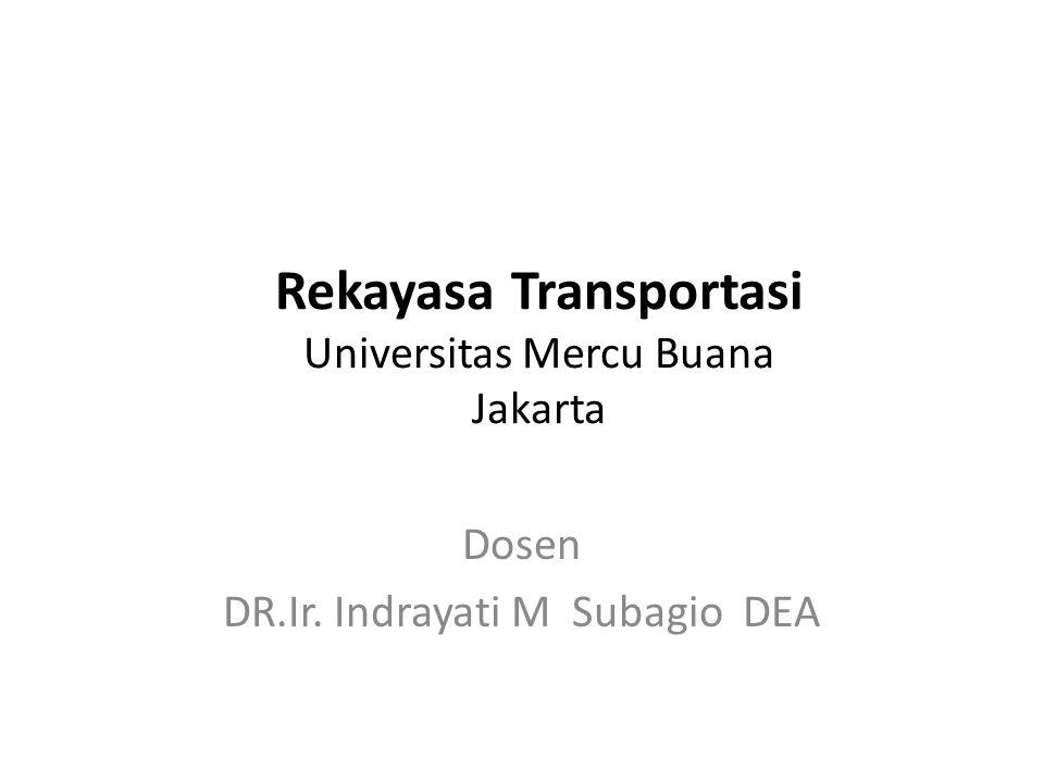 Fungsi Transportasi Transportasi mempunyai fungsi ganda, yaitu: 1.