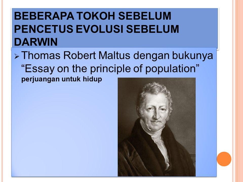 """BEBERAPA TOKOH SEBELUM PENCETUS EVOLUSI SEBELUM DARWIN  Jean Baptiste Lamarck dengan bukunya """"Philosophie Zoologique"""" Diwariskannya sifat ( hukum Use"""