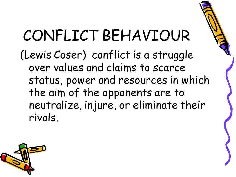 DEFINISI KONFLIK (Kriesberg) A social conflict exists when two or more parties believe they have incompatible objectives.