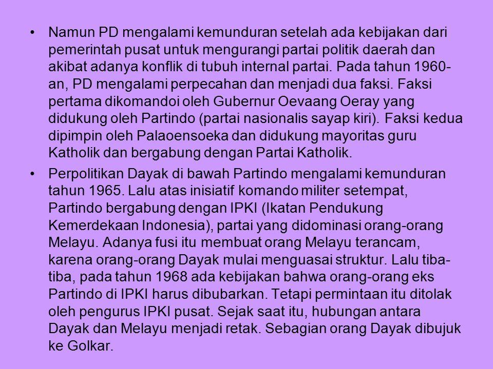 Peranan Majelis Adat Budaya Melayu (MABM) Saat 1950-an, peranan adat Melayu tidak terlalu kuat karena mereka sudah merasa nyaman berada di birokrasi.