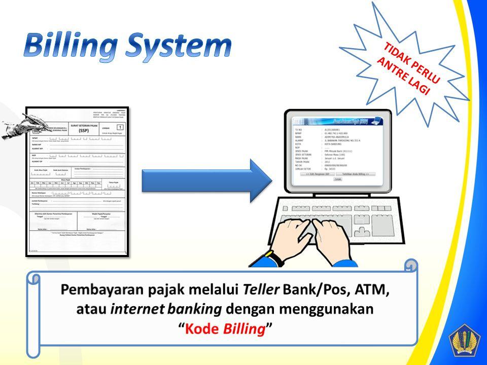 Pendaftaran Pembuatan kode Billing Pembayaran Penutupan Billing