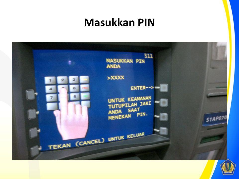 Masukkan PIN