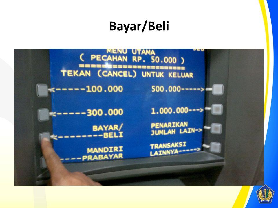 Bayar/Beli