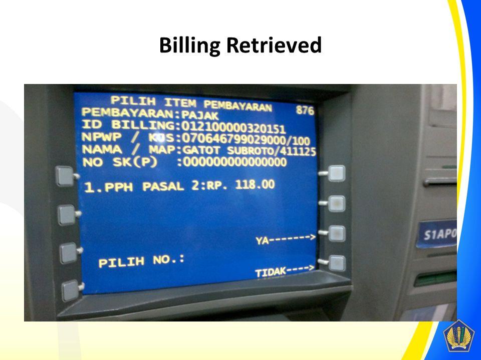 Billing Retrieved