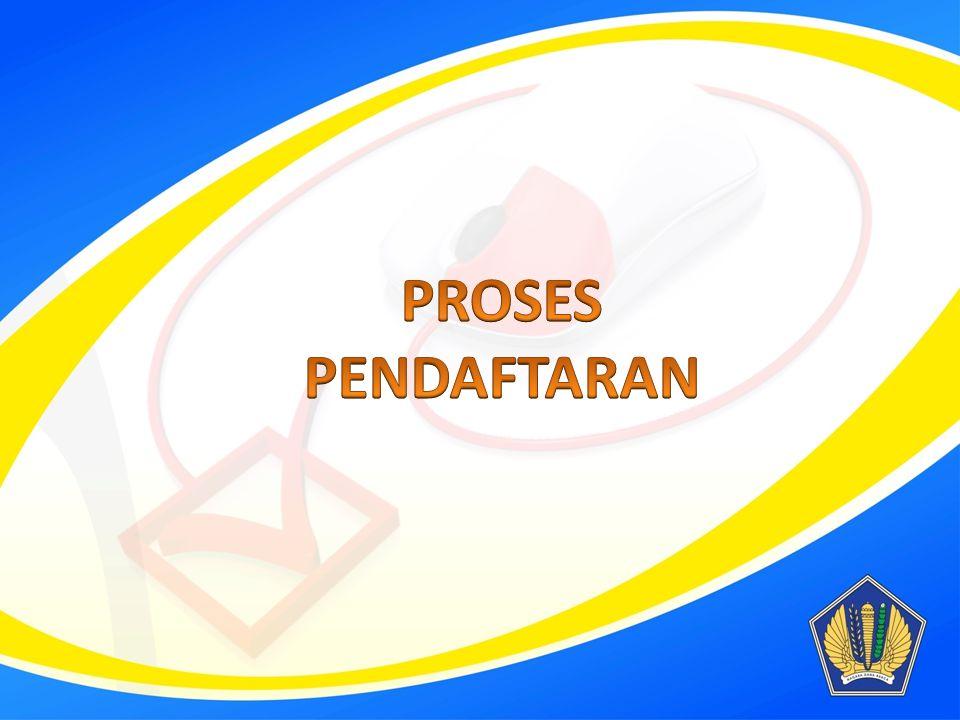 Buka browser, browse ke http://sse.pajak.go.idhttp://sse.pajak.go.id Pilih Daftar baru