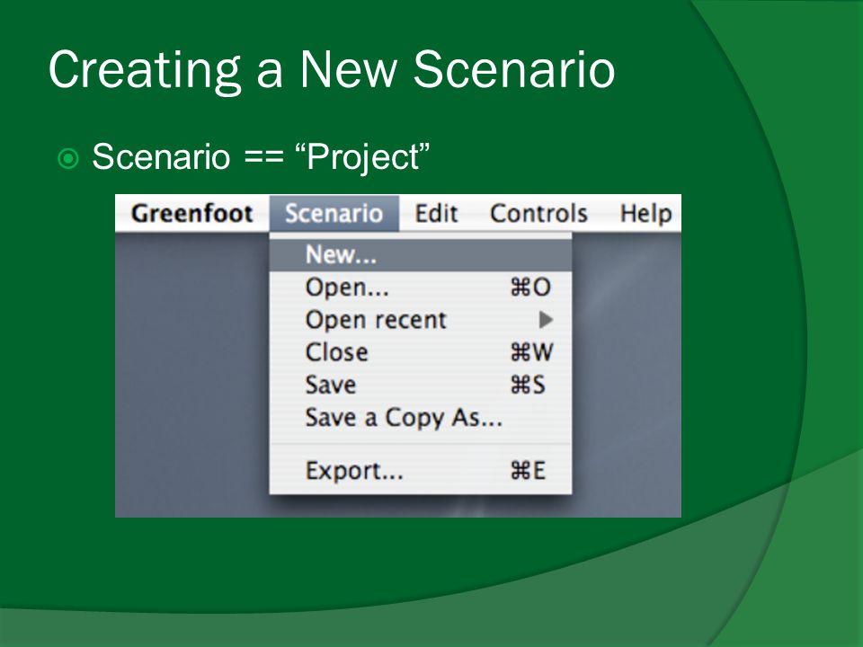 Next Week  Greenfoot Primitive Objects  String  Scorring  Image Manipulation  Intersecting (Tumbukan/Collision)  Penambahan efek suara  Exporting Scenario